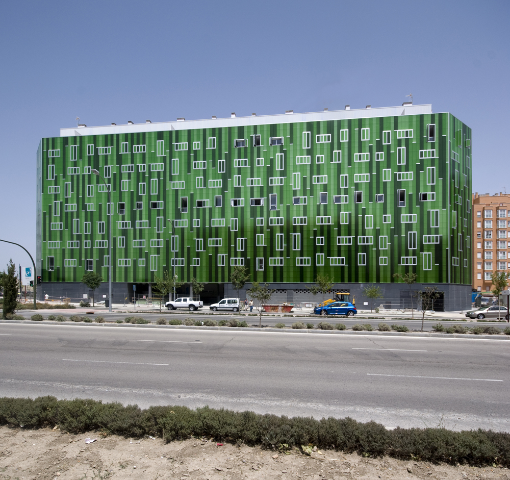 Edificio-de-viviendas, SOMOS-Arquitectos, diseño, casas, arquitectura