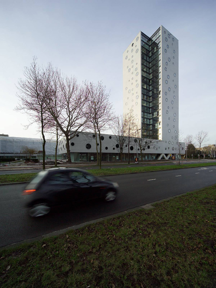 De Rokade, Arons en Gelauff Architecten, Architecture, Design, Housing, Concrete